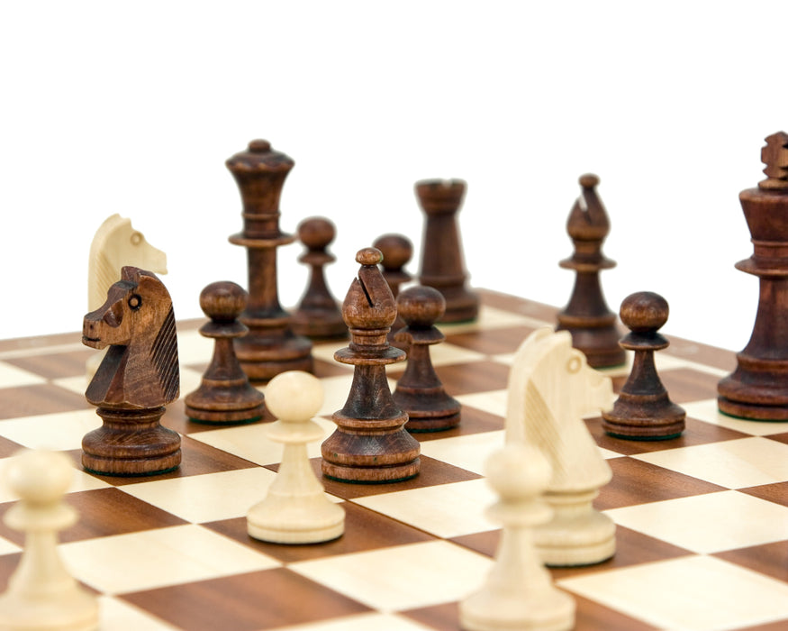 "19"" Tournament Folding Chess Set - Official Staunton™"