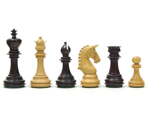 "3.75"" Imperial Colombian Rosewood Chess Pieces - Official Staunton™"
