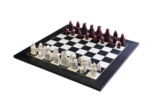 Isle Of Lewis Mahogany &  Anegre Matt Chess Board - Official Staunton™