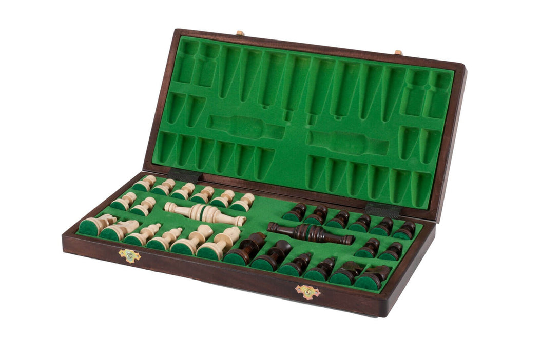 14 Inch Olympic Folding Chess Set - Official Staunton™