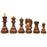 "3.75"" Zagreb Russian Sheesham Chess Pieces - Official Staunton™"