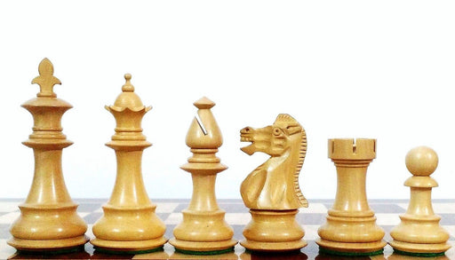 3.75 Inch British Flower Series Chess Pieces - Official Staunton™