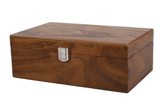 Walnut Euro Chess Box - Official Staunton™
