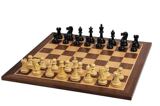 Executive Black Walnut Chess Set - Official Staunton™