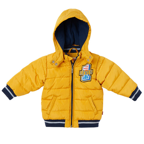 Levi's - Padded Coat with Detachable Hood-Coat-Sweet Peas Kidswear