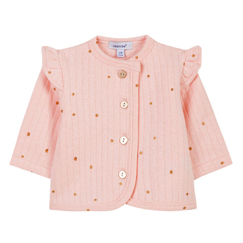Absorba - Baby Girls Soft Pink Jacket-Jacket-Sweet Peas Kidswear