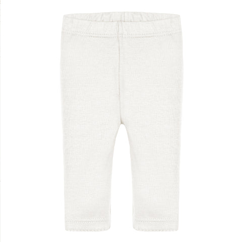Absorba - Baby Girls Off-White Leggings-Legging-Sweet Peas Kidswear