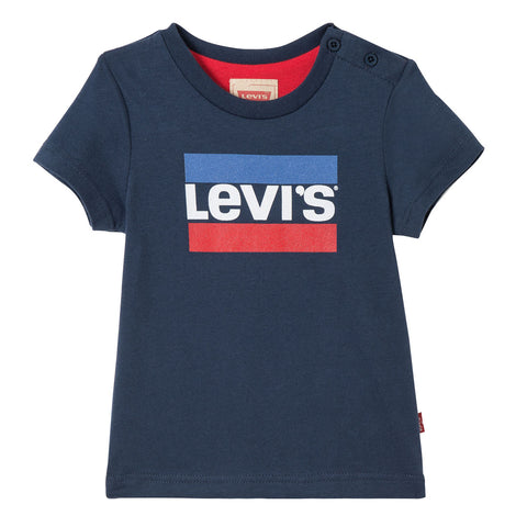 Levi's Kids - Baby Boys Navy Logo T-shirt