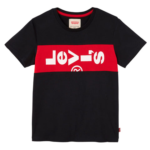 Levi's Kids - Boys Black Logo T-Shirt