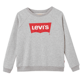 Levi's - Girls Grey Cotton Levi's Logo 'Batwing' Sweatshirt