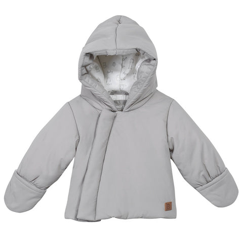 Absorba - Grey Hooded Down Coat