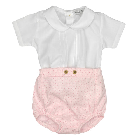 Babidu SS19 - Baby Girls Two Piece Shorts Set
