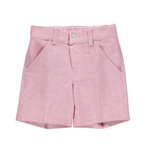 DOT - Summer Adolfo Cherry Stripe Boys Shorts-Shorts-Sweet Peas Kidswear