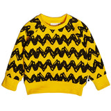 Tobias & The Bear X Peanuts - Charlie Brown Loopback Sweatshirt-Jumper-Sweet Peas Kidswear