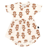 Huxbaby - Soldier Bears Swirl Dress-Dress-Sweet Peas Kidswear
