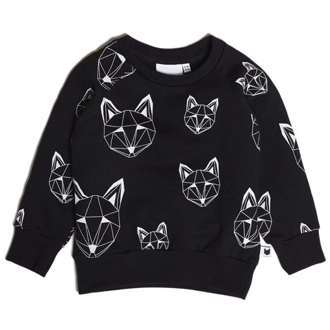 Tobias & The Bear - Just Call Me Fox Multi Sweatshirt-Jumper-Sweet Peas Kidswear