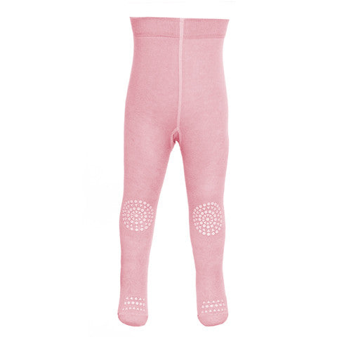 GoBabyGo - Baby Girls Pink Crawling Tights-Tights-Sweet Peas Kidswear