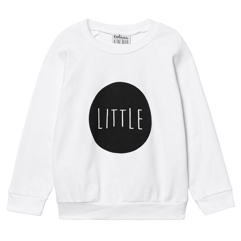 Tobias & The Bear - Little Long Lightweight Sweatshirt-Jumper-Sweet Peas Kidswear