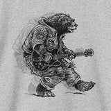 Levi's - Boys Grey, Guitar Bear T-Shirt-T-Shirt-Sweet Peas Kidswear