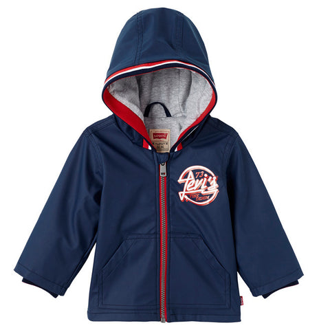 Levi's - Boys Waterproof Hooded Parker - Sweet Peas Kidswear  - 1