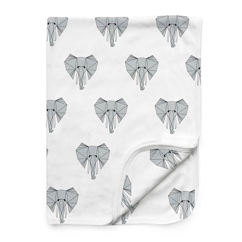 Tobias & The Bear - Ned the Elephant Baby Blanket-Blanket-Sweet Peas Kidswear