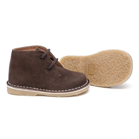 TNY Shoes - Desert Boot - Brown - Sweet Peas Kidswear  - 1
