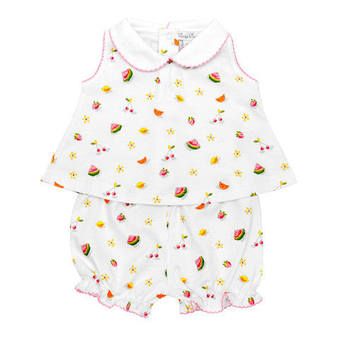 Kissy Kissy - 'Tropical Delight' 2 Piece Sunsuit-Outfit Set-Sweet Peas Kidswear
