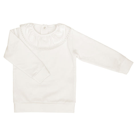DOT - 'Violetta' Cream Jumper - Sweet Peas Kidswear  - 1