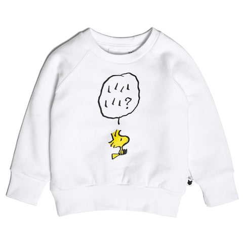 Tobias & The Bear X Peanuts - Woodstock Loopback Sweatshirt-Jumper-Sweet Peas Kidswear