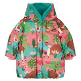 Oilily - Lama Landscape Coat-Dress-Sweet Peas Kidswear