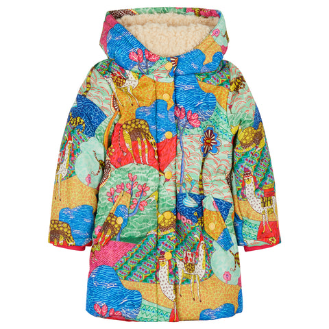 Oilily - Atlas Mountain Coat-Dress-Sweet Peas Kidswear