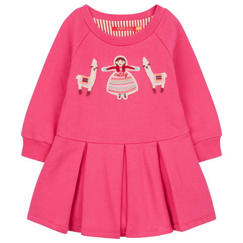Oilily - Hermosa Sweat Dress-Dress-Sweet Peas Kidswear