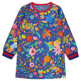 Oilily - Mountain Folk Thelama Jersey Dress-Dress-Sweet Peas Kidswear