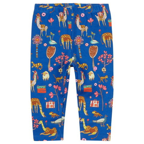 Oilily - Dark Blue Atlas Mountain Leggings-Legging-Sweet Peas Kidswear