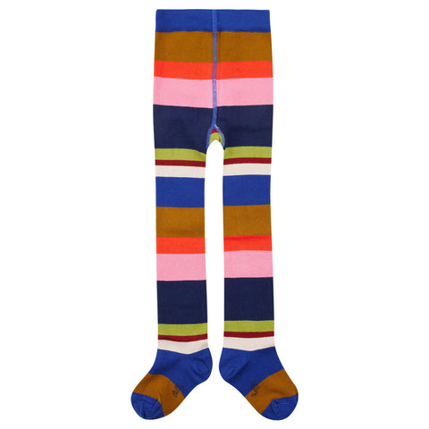 Oilily - Marayure Maillot Multicoloured Striped Tights-Tights-Sweet Peas Kidswear
