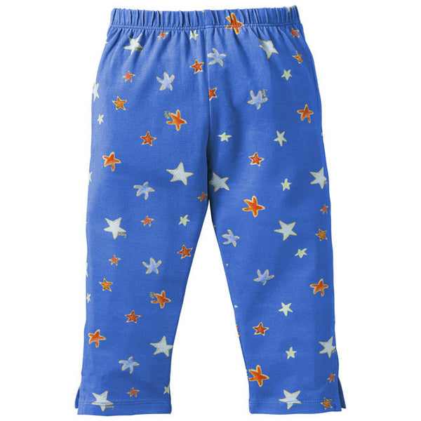 Oilily - Girls 'Blacksea Water' Jersey Leggings-Legging-Sweet Peas Kidswear