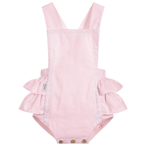 Babidu - Baby Girls Pink Cotton Shortie