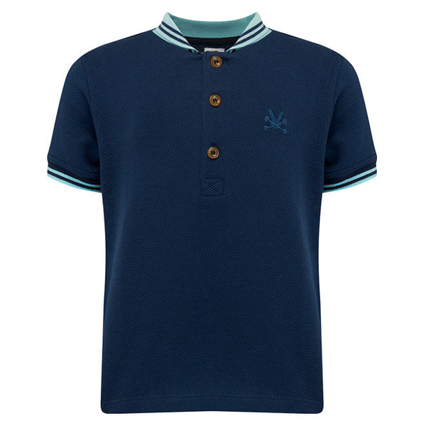 No Added Sugar - 'Giddy' Polo Shirt-T-Shirt-Sweet Peas Kidswear