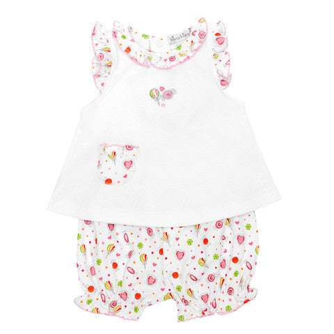 Kissy Kissy - 'Candyland' 2 Piece Sunsuit-Outfit Set-Sweet Peas Kidswear