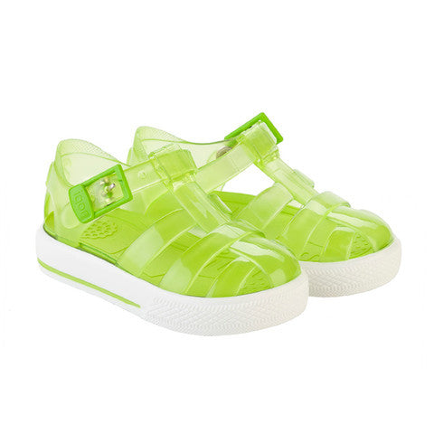 igor - 'Tenis' Green Jelly Shoes-Jelly Shoe-Sweet Peas Kidswear
