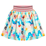 No Added Sugar - Girls 'Around The Issue' Skirt-Skirt-Sweet Peas Kidswear