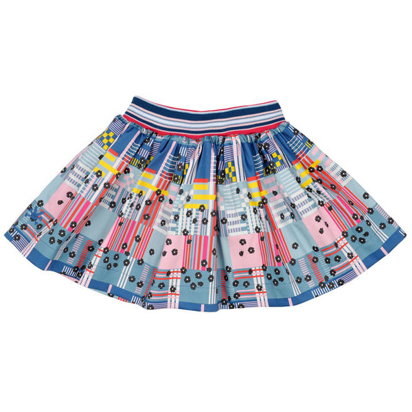 No Added Sugar - Girls 'Around The Issue - Keep In Check' Skirt-Skirt-Sweet Peas Kidswear
