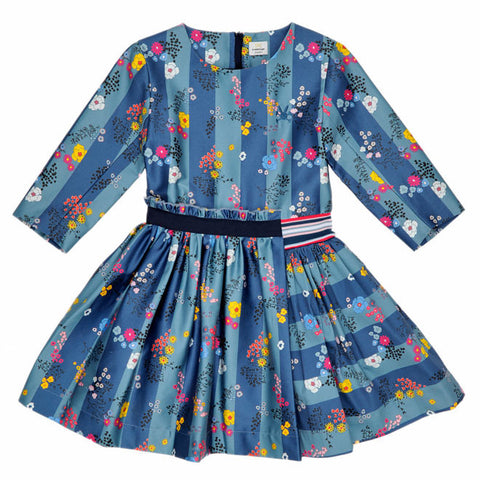 No Added Sugar - Floral 'Blink Of An Eye, Up The Garden Path' Dress - Sweet Peas Kidswear  - 1