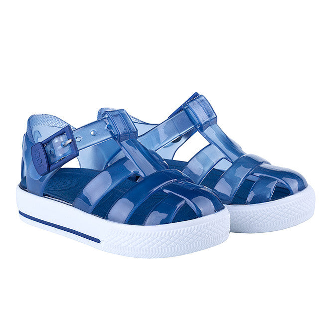 34485684f5e0 igor -  Tenis  Clear Navy Jelly Shoes-Jelly Shoe-Sweet Peas Kidswear