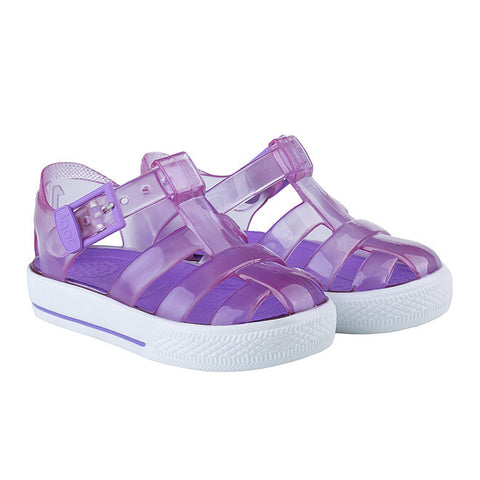 igor - 'Tenis' Clear Purple Jelly Shoes 1