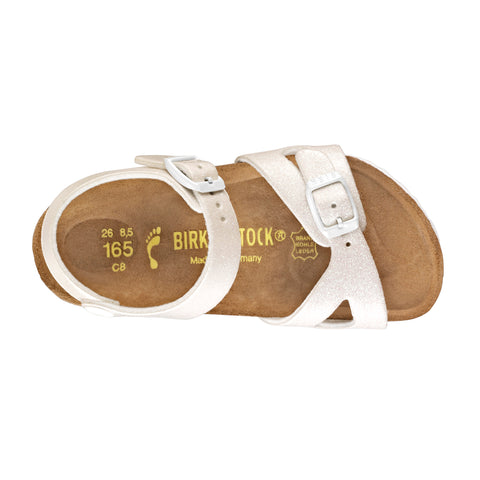 Birkenstock - White Glitter Rio Magic Galaxy Sandals 1