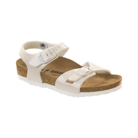Birkenstock - White Glitter Rio Magic Galaxy Sandals-Sandal-Sweet Peas Kidswear