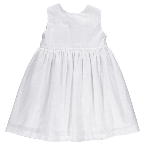 DOT - White Poppy Dress