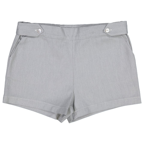 DOT - Dylan Grey Denim Shorts-Shorts-Sweet Peas Kidswear