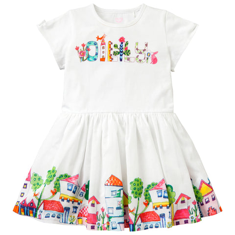 Oilily - Girls Dabra Short Sleeved Jersey Dress